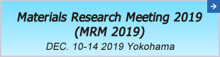Materials Research Meeting 2020(MRM2020)